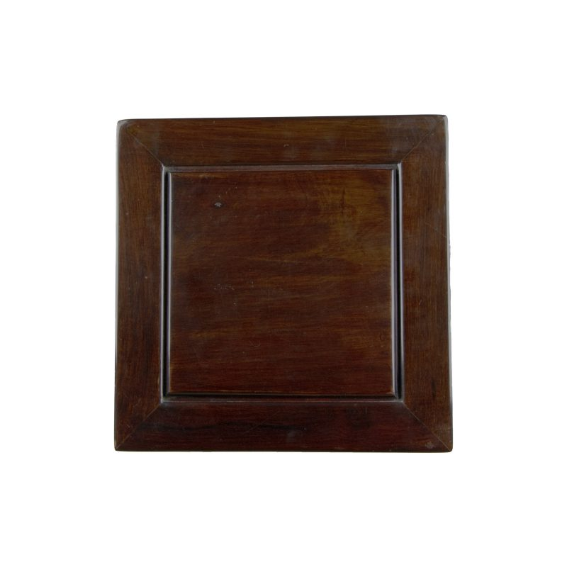 Square Top of a Chinese Wooden Display Stand