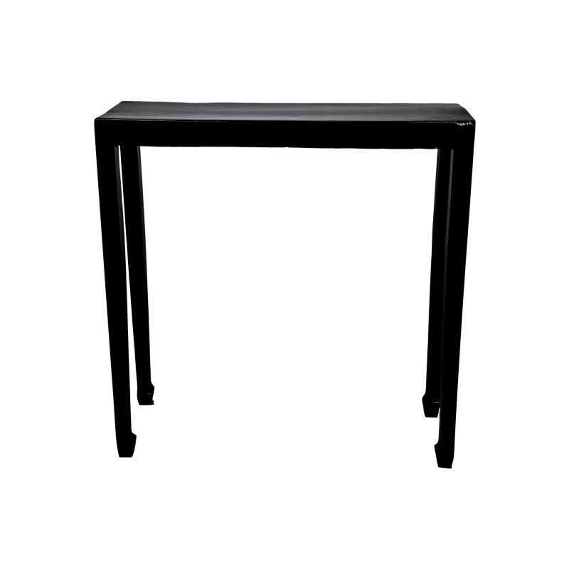 Elegant Chinese Black Lacquer Table