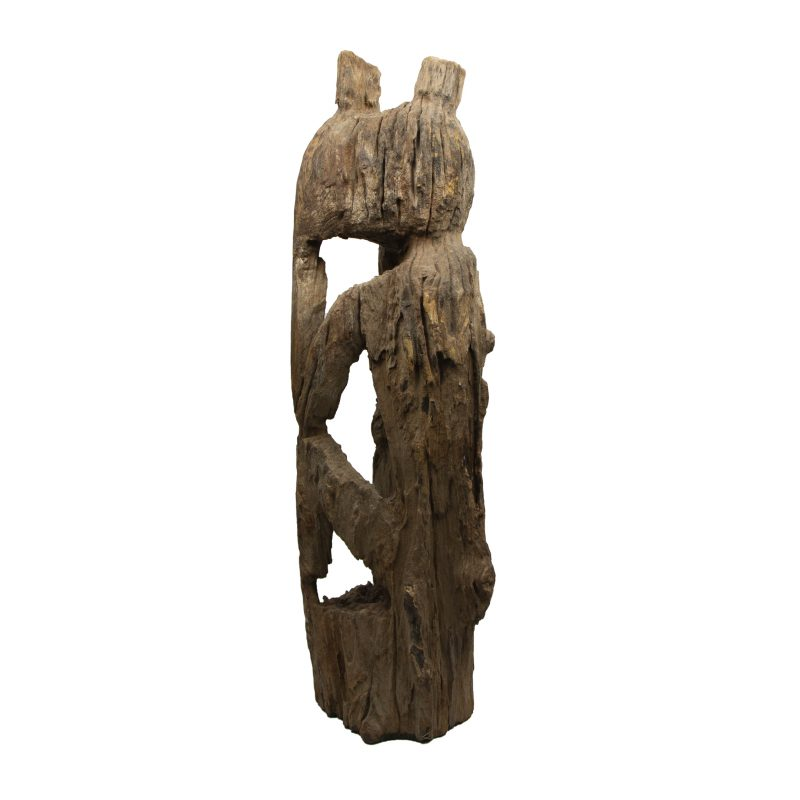 Wooden Jaraï Sculpture From Viêtnam