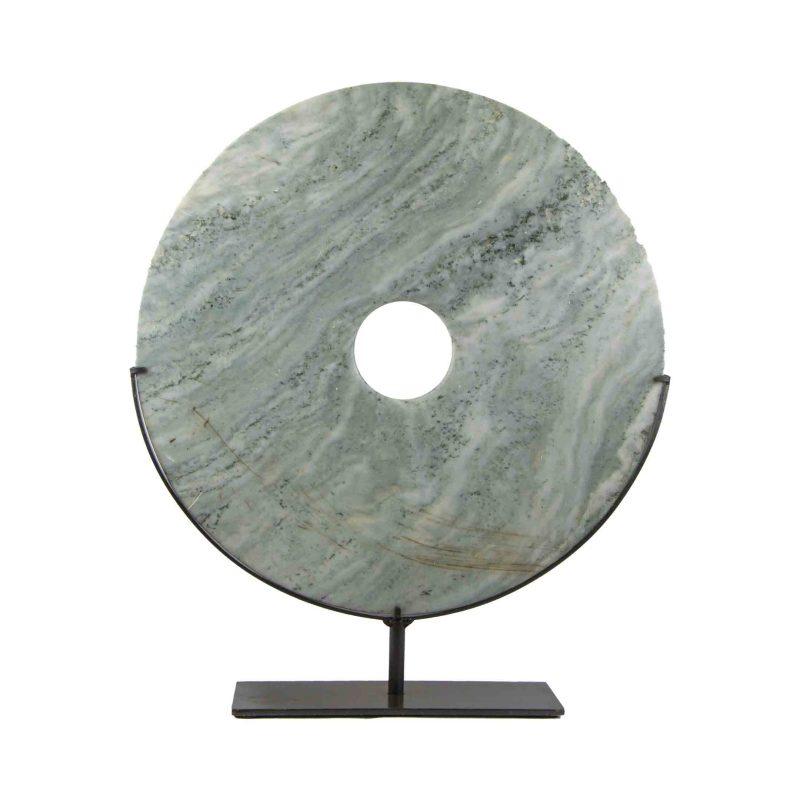 Chinese Hardstone Bi-Disc