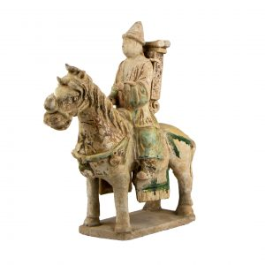 Chinese Ming Dynasty Terracotta Horse Rider
