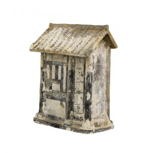 Chinese Song Dynasty Terracotta Miniature Bank