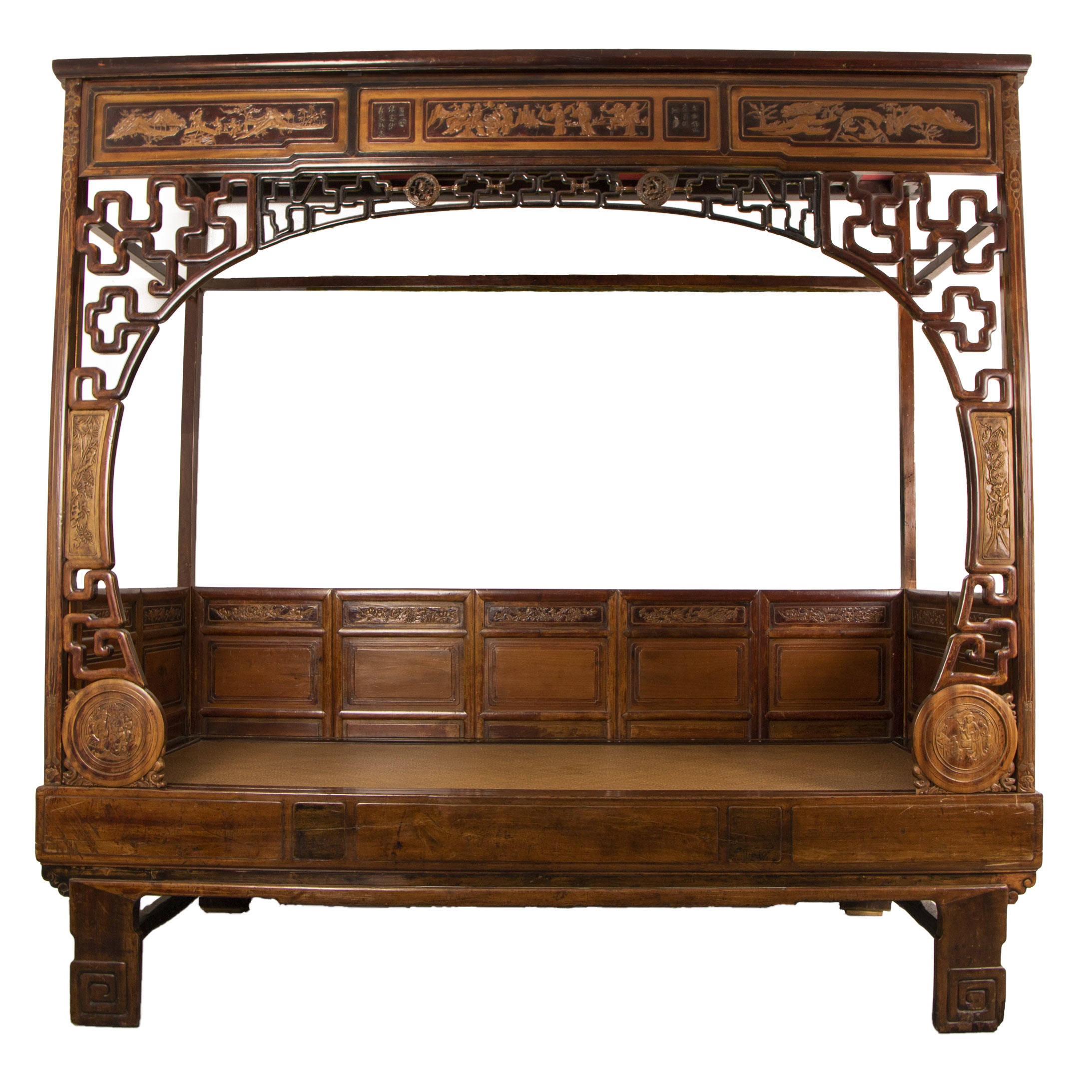 - Chinese Canopy Single Bed – Chinantique
