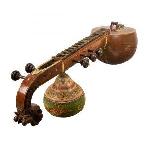 Instrument de musique indien appelé Sitar