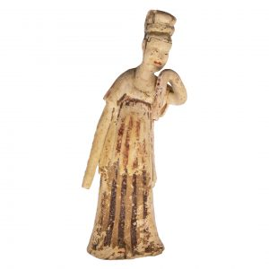 Chinese Tang Dynasty Dancer Terracotta